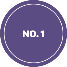 Graphic that says No. 1