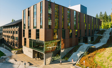 Image of UW Bothell's New STEM Building