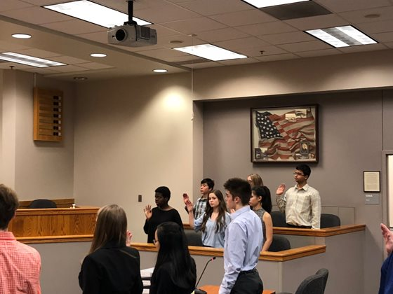 Bothell Youth Court Hearing