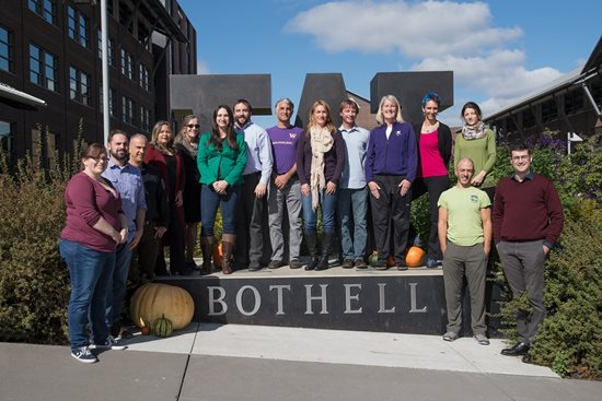 Photo of University of Washington Bothell Math Faculty, Fall 2017