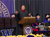 John Quinones speaks at UW Bothell 2014 Commencement