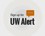 Sign up for UW Alert
