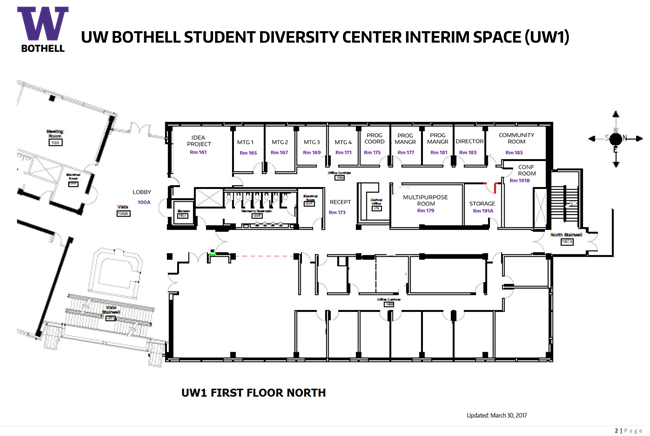 diversity center floor plan
